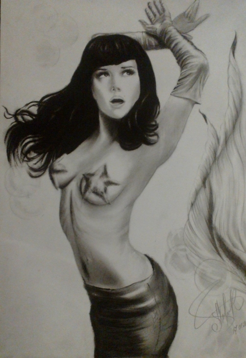 Natalia Oreiro by mahar-art